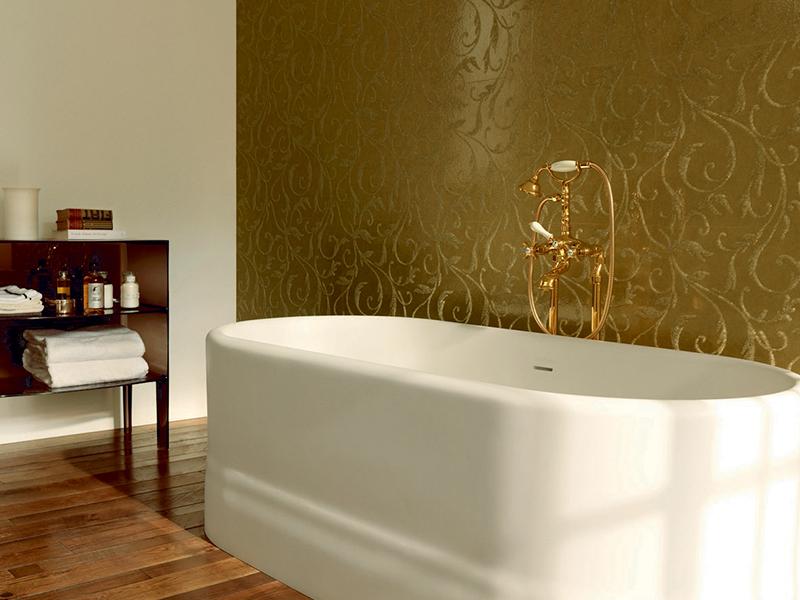 fba168e2cf60 Смеситель для ванной Emmevi DECO classic колонна НИЗКАЯ золото ...